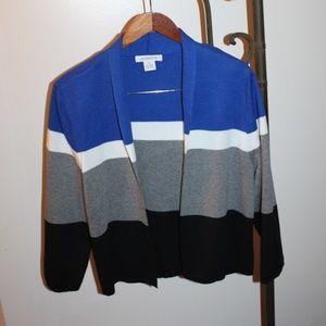 Liz Claiborne XL Open Front Sweater